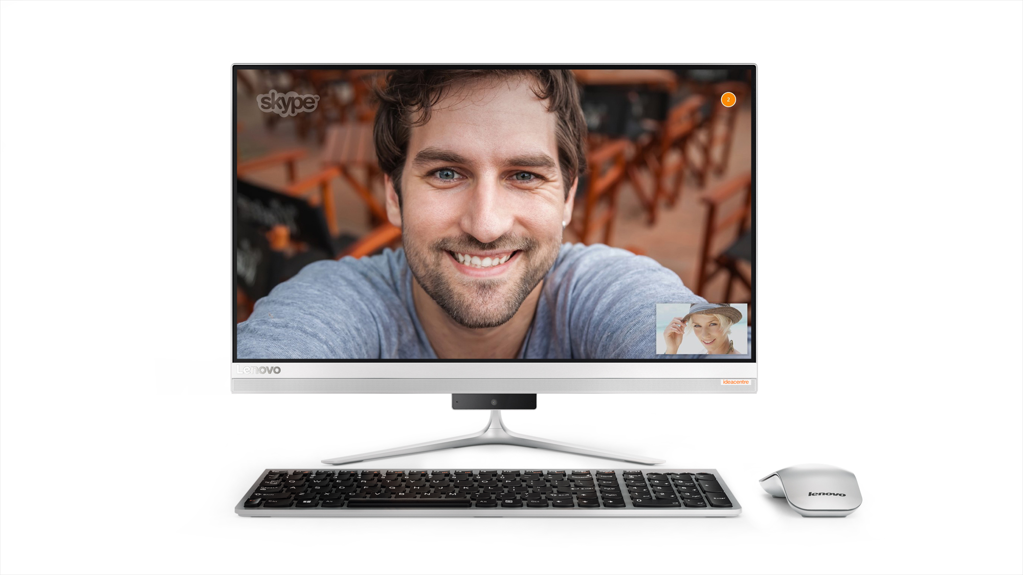 "Lenovo IdeaCentre AIO 510-22ISH WHITE Pentium G4400T 2,9GHz/4GB/1TB/21,5"" FHD/IPS/DVD-RW/WIN10 F0CB009WCK"