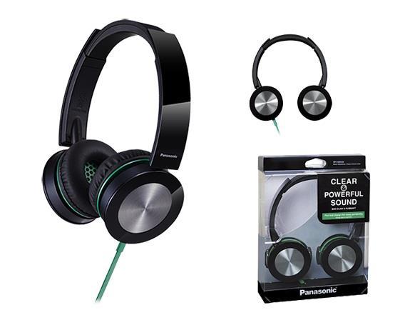 Sluchátka Panasonic RP-HXS400E-K, černá