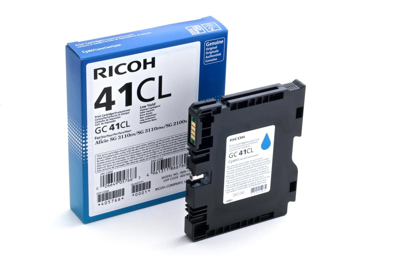 Ricoh - toner 405766 (SG 2100N, 3110DN, 3110DNw, 3100SNw, 3110SFNw, 3120B SFNw, 7100DN) 600 stran, azurový