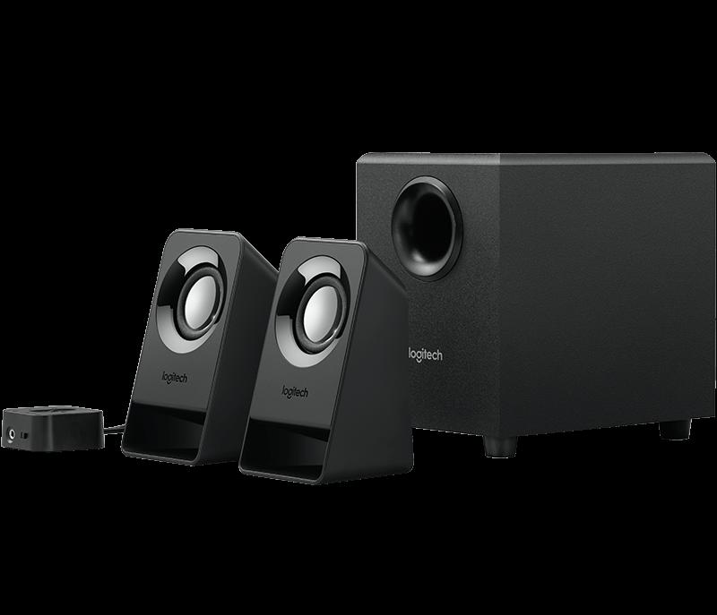 Logitech Repro Multimedia Speakers Z213, 2.1, ovládaní Basů, audio vstup