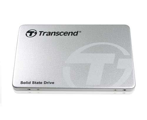 TRANSCEND SSD370S 1TB SSD disk 2.5'' SATA III 6Gb/s, MLC, Aluminium casing, stříbrný