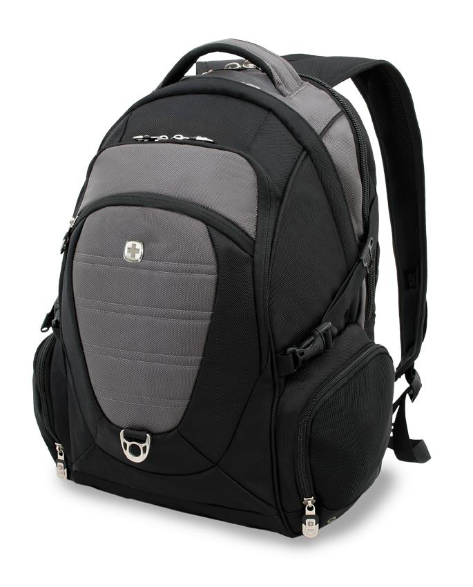 Backpack for laptop 15'' WG9275 Wenger black/gry