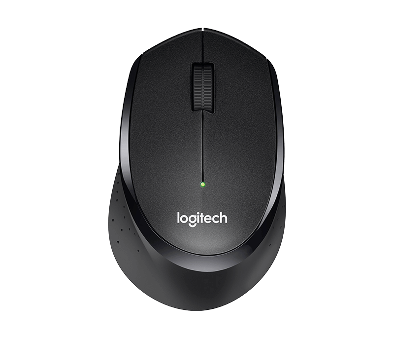 myš Logitech Wireless Mouse B330 silent plus black