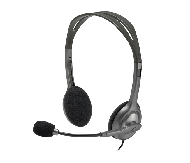 náhlavní sada Logitech Stereo Headset H111