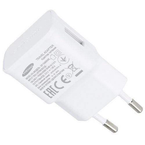 Samsung USB EP-TA50EWE dobíječ bez kab. White Bulk