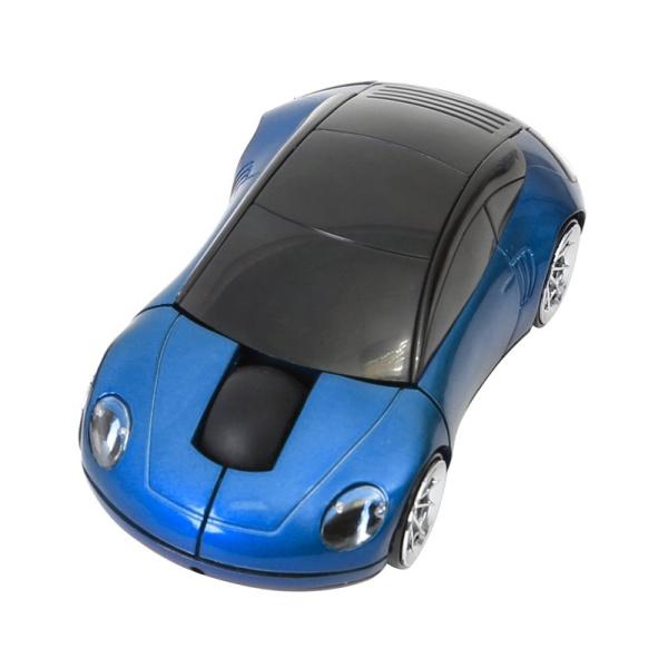 MYŠ OMEGA AUTO OM-300 BEZDRÁTOVÁ 2,4GHz 1200DPI modrá