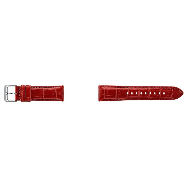 Samsung výměnný pásek Aligator Gear S3, Orange Red