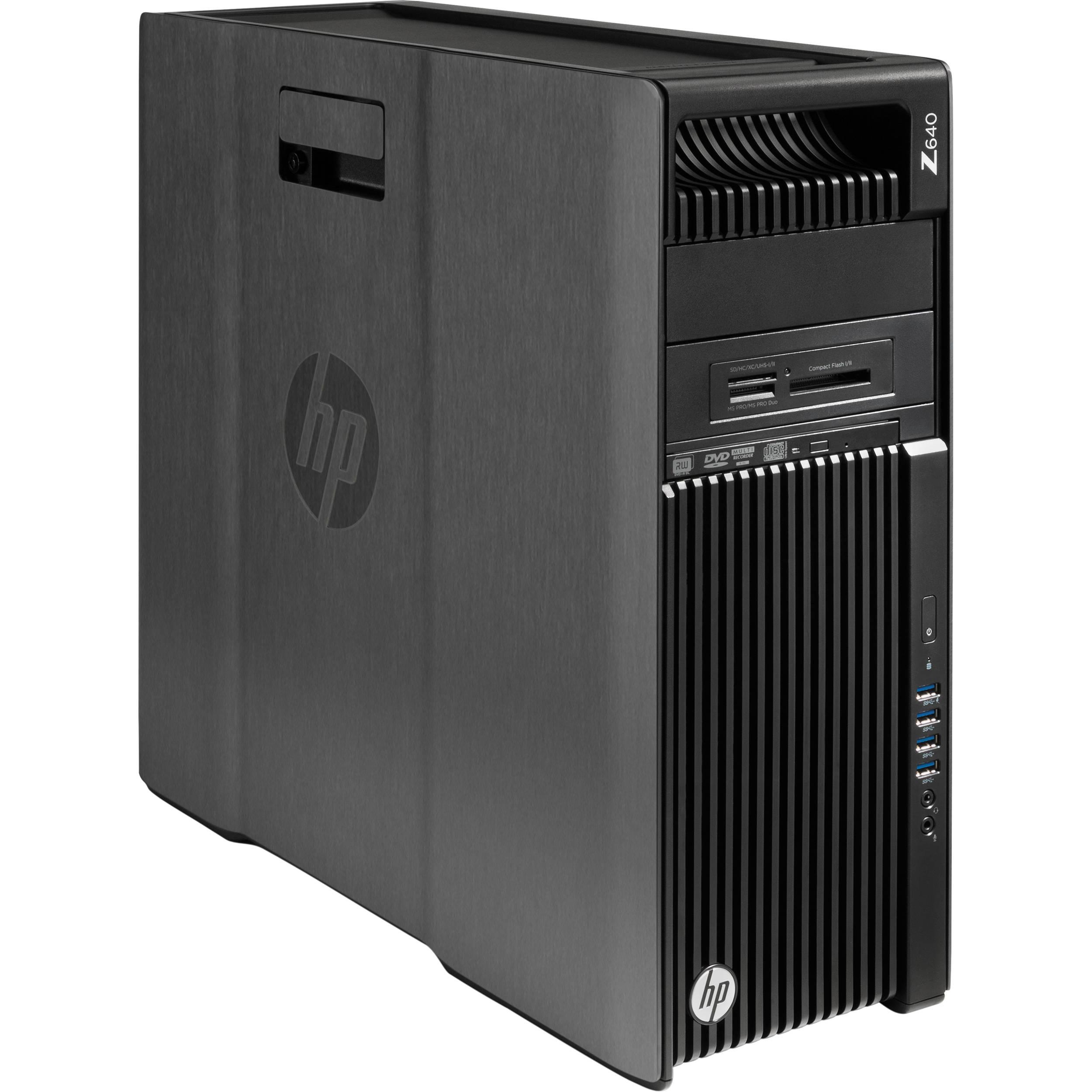 HP Z640 MT Intel E5-2650v4 2.2 2400/32GB DDR4-2400 (4x8GB)/512 SSD PCIe/W10P