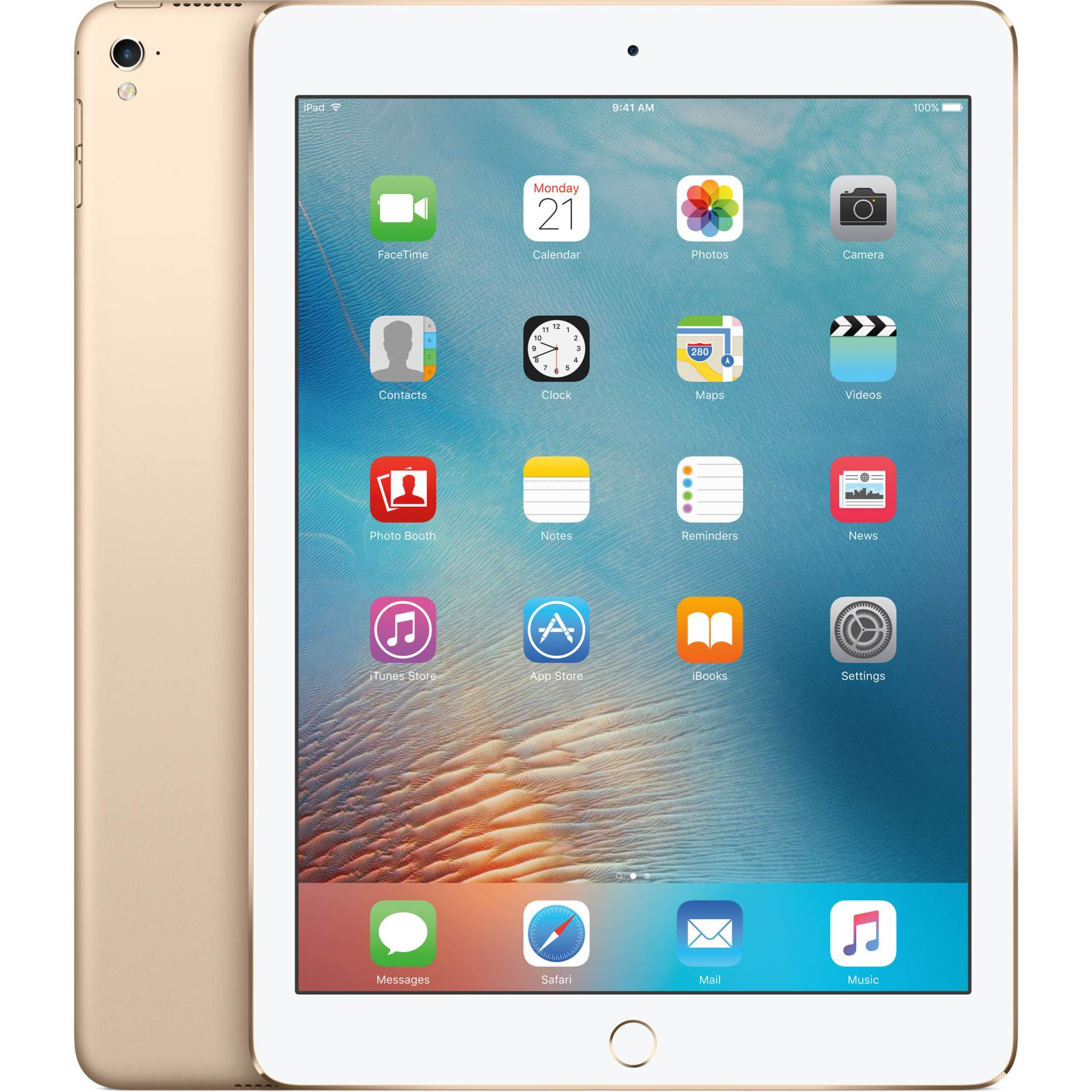 9.7'' iPad Pro Wi-Fi+Cell 256GB Gold