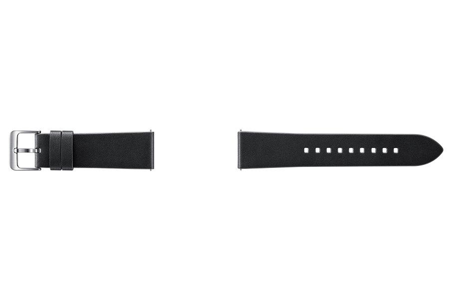 Samsung výměnný pásek kožený Gear S3 , Black