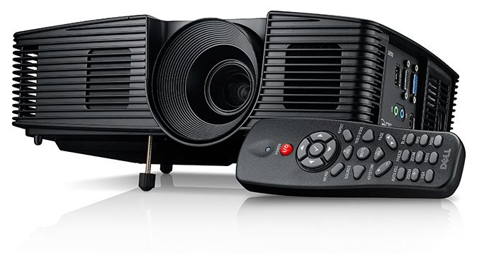 Dell 1850 Projector/DLP/1920x1080 FHD/3 000:1 ANSI/2000:1