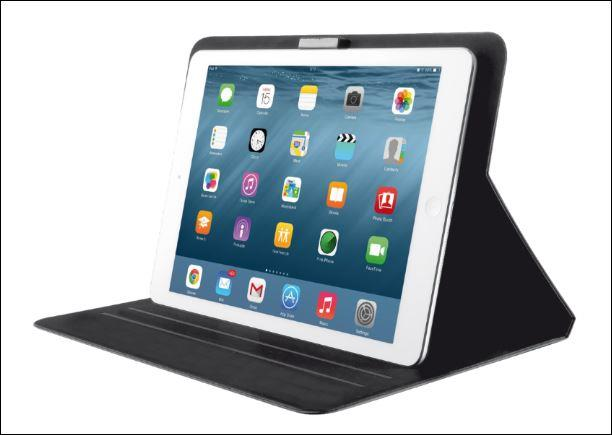 TRUST Pouzdro na tablet Aeroo Ultrathin Folio Stand for iPad 2/3/4/Air/Air2 - černé