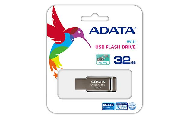 ADATA DashDrive™ Series UV131 32GB USB 3.0 flashdisk, šedý