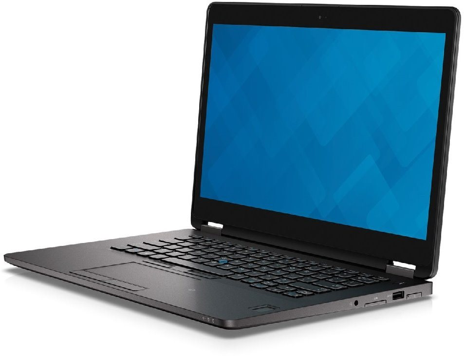 "DELL Latitude E7470/i7-6600U/8GB/256GB SSD/Intel HD 520/14.0"" QHD Touch/Win 7 Pro+Win 10 Pro 64bit/Black"