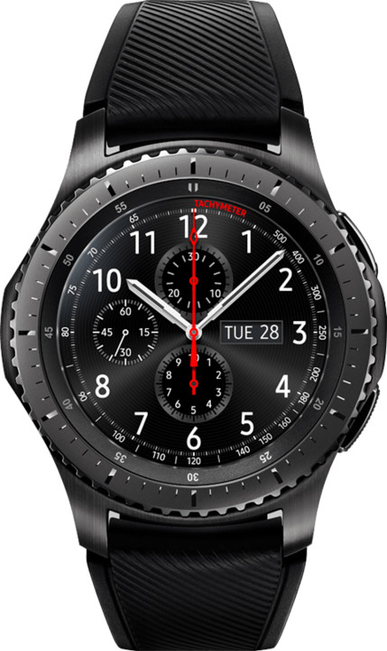 SAMSUNG Gear S3 frontier, Dark Grey