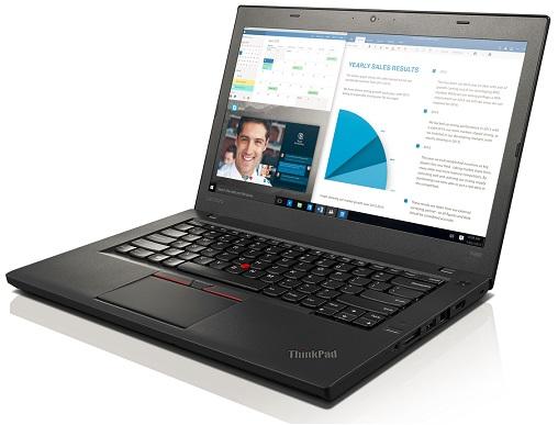 """Lenovo ThinkPad T460 i7-6600U/8GB/256GB SSD/HD Graphics 520/14""""FHD IPS/Win10PRO/Black"""