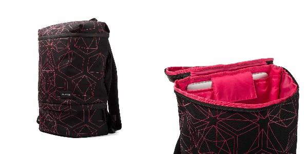 Crumpler Beehive - black/pink