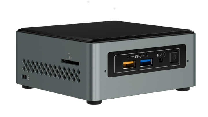 Intel NUC Kit 6CAYS Celeron/USB3/HDMI/WF/M.2/2,5""