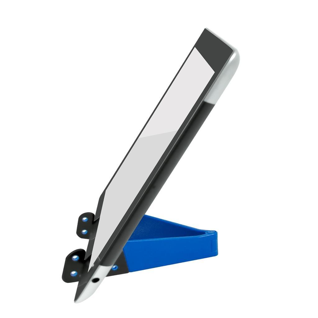 VAKOSS skládací stojan pro PC tablet a mobilní telefony, ST-1213B modrý