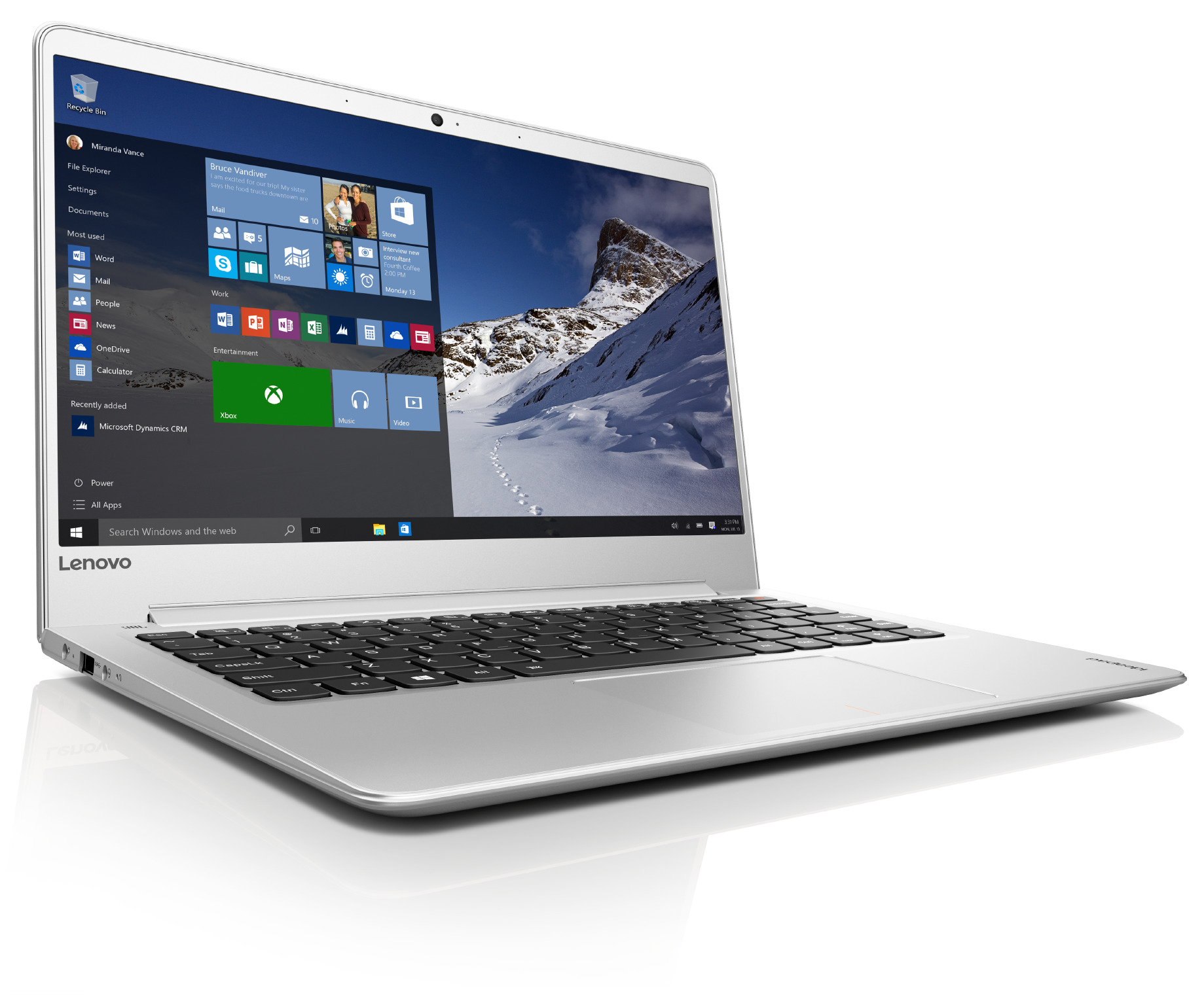"Lenovo IdeaPad 710S PLUS-13IKB i7-7500U 3,50GHz/8GB/SSD 512GB/13,3"" FHD/IPS/AG/GeForce 2GB/WIN10 PRO stříbrná 80W3003QCK"