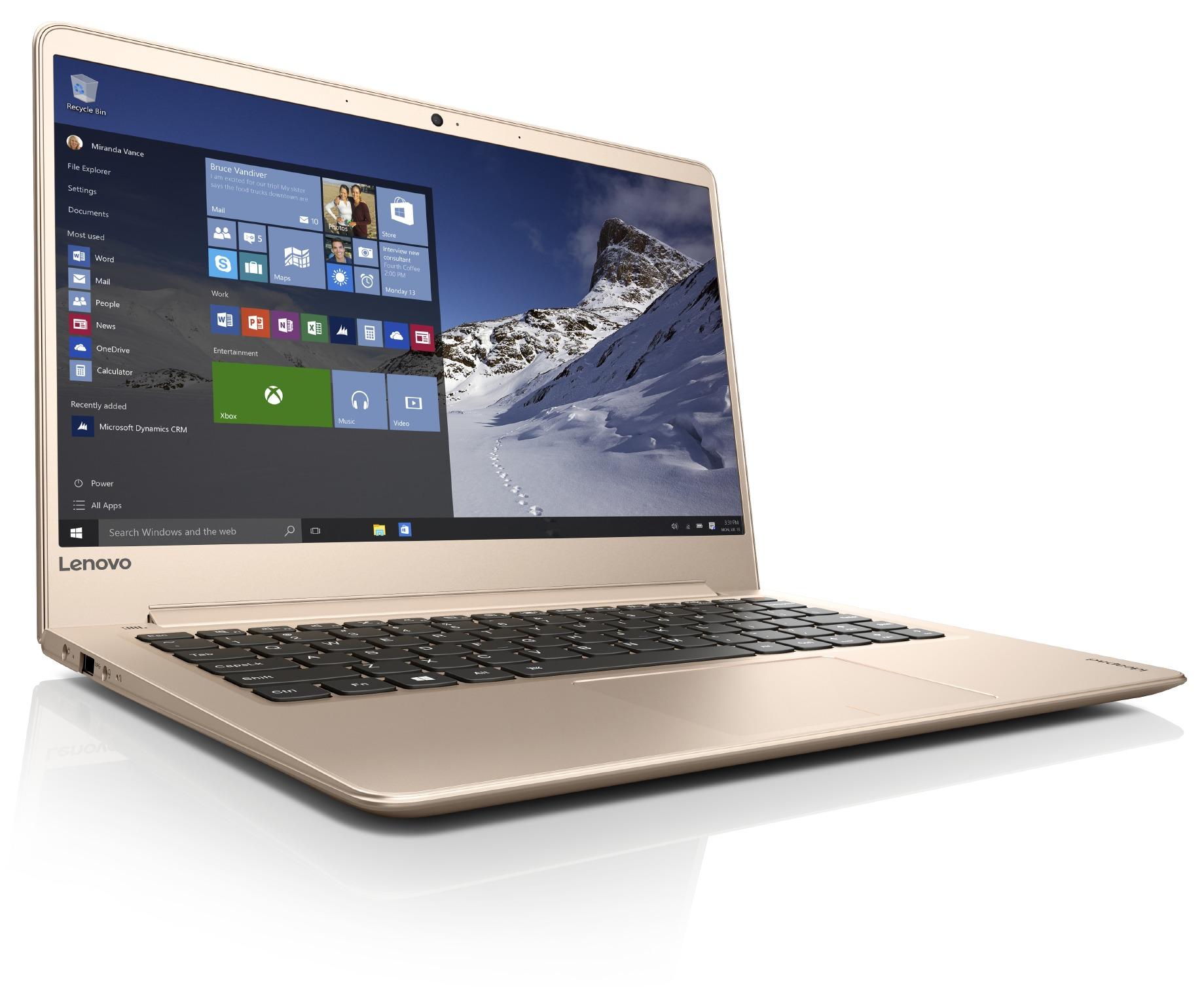 "Lenovo IdeaPad 710S PLUS-13IKB i5-7200U 3,10GHz/8GB/SSD 256GB/13,3"" FHD/IPS/AG/FPR/WIN10 PRO zlatá 80W3003RCK"