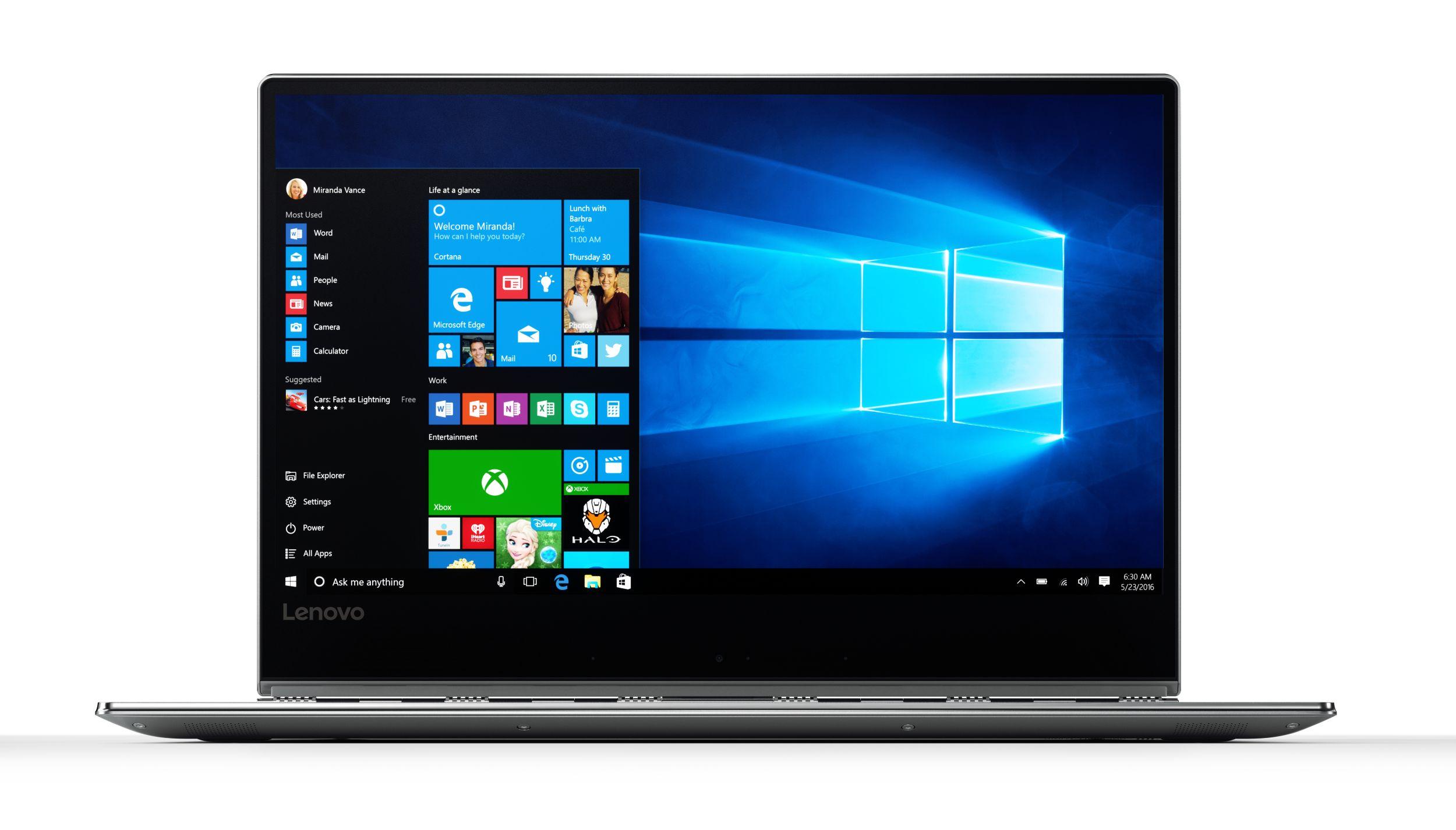 "Lenovo Yoga 910 13,9""UHD/i7-7500U/512/16G/Win 10 Silver 3Yrs"