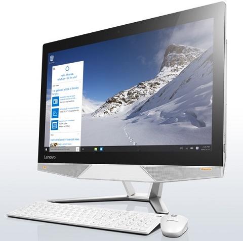 """Lenovo IdeaCentre AIO 700 i3-6100 3,70GHz/4GB/1TB/23,8"""" FHD/IPS/multitouch/DVD-RW/WIN10 bílá F0BE0081CK"""