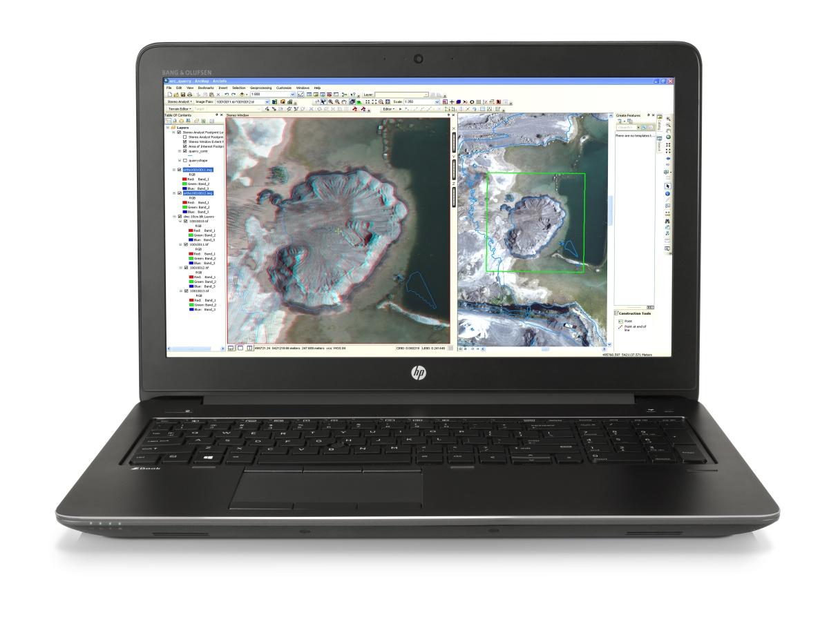 HP ZBook 15 G3 i7-6700HQ/256GB Z Turbo Drive PCIe/2x4GB DDR4/15,6'' FHD/Quadro M1000M/Win 10 Pro