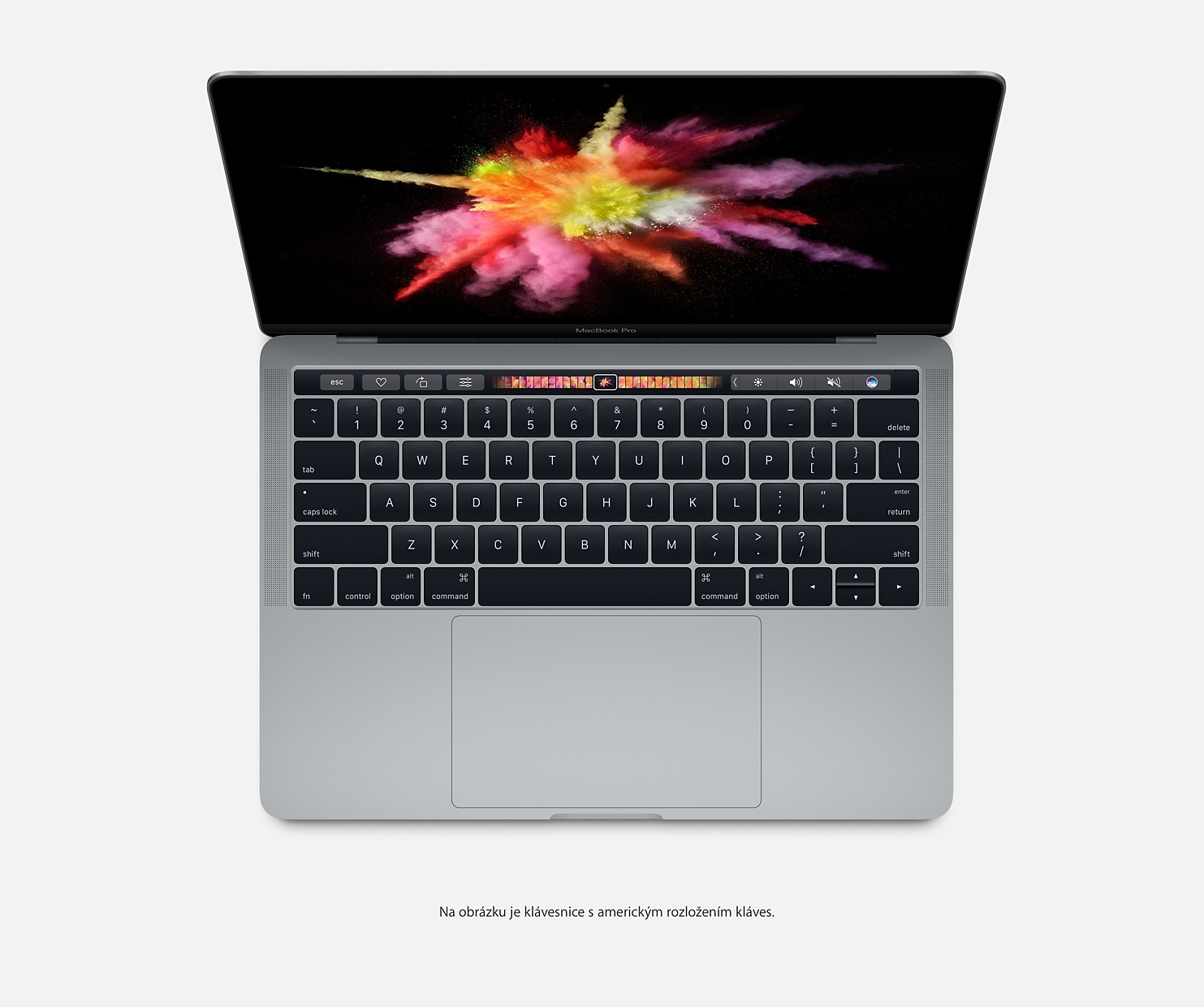 "Apple MacBook Pro 15,4"" Touch Bar/IPS Retina 2880x1800/QC i7 2.6-3.5GHz/16GB/256GB_SSD/R Pro 450_2GB/CZ/Space Gray"
