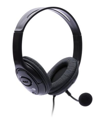 CONNECT IT PC headset s mikrofonem, černé
