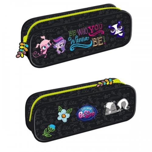 Pouch Pencil Case with a zipper Littlest Pet Shop 12/48