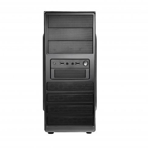 PC case Spire SUPREME 1503, black, PSU 420W