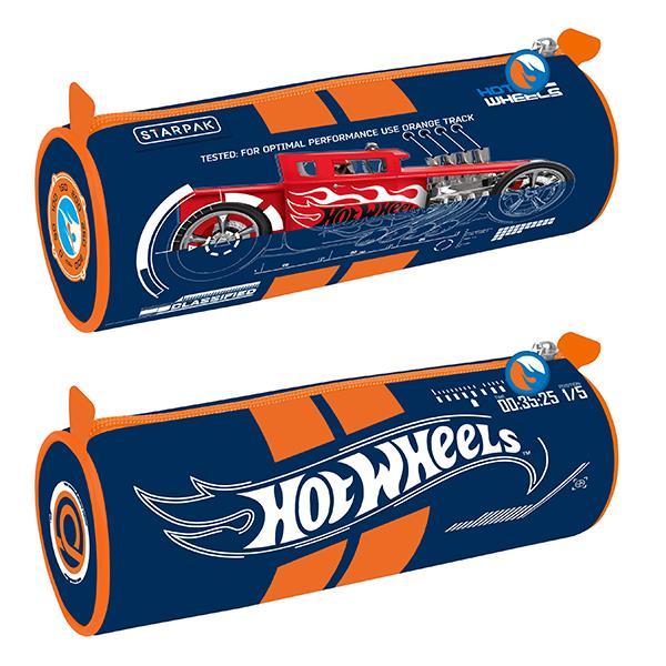 Tube Pencil Case, Hot Wheels 12/48