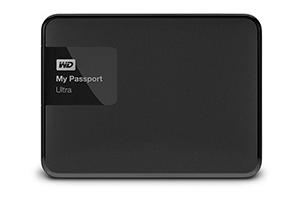 """WD My Passport ULTRA 1TB Ext, 2,5"""" USB3,0, Black"""