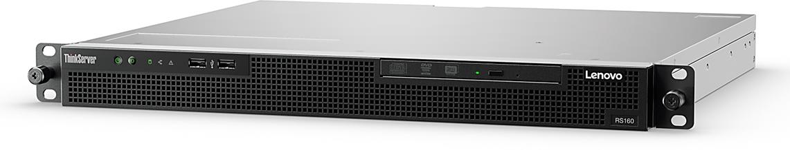 Lenovo RS160 Xeon 4C E3-1220 v5 3GHz/2133MHz/1x8GB/2x1TB SATA NHS 3.5in (2)/RAID 121i/300W fixed