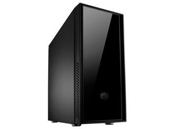 CoolerMaster case miditower Centurion Silencio, ATX,black, USB3.0, SD čtečka, zdroj GX550W, odhlučněný