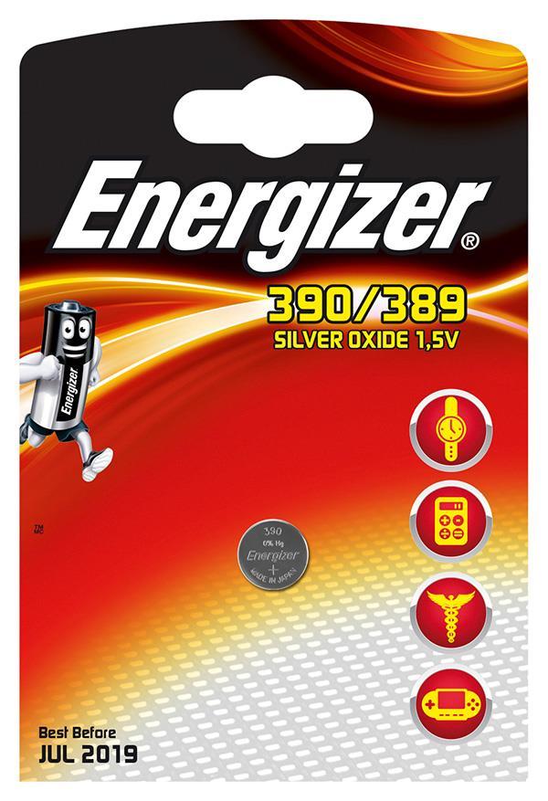 Baterie do hodinek , Energizer, 390/389