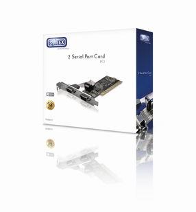 Sweex PCI řadič 2x sériový port RS232