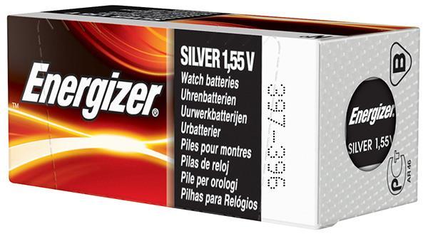 Baterie do hodinek (knoflíková baterie), ENERGIZER, 397/396