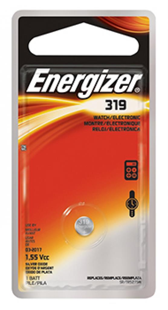 Baterie do hodinek (knoflíková baterie), ENERGIZER, 319