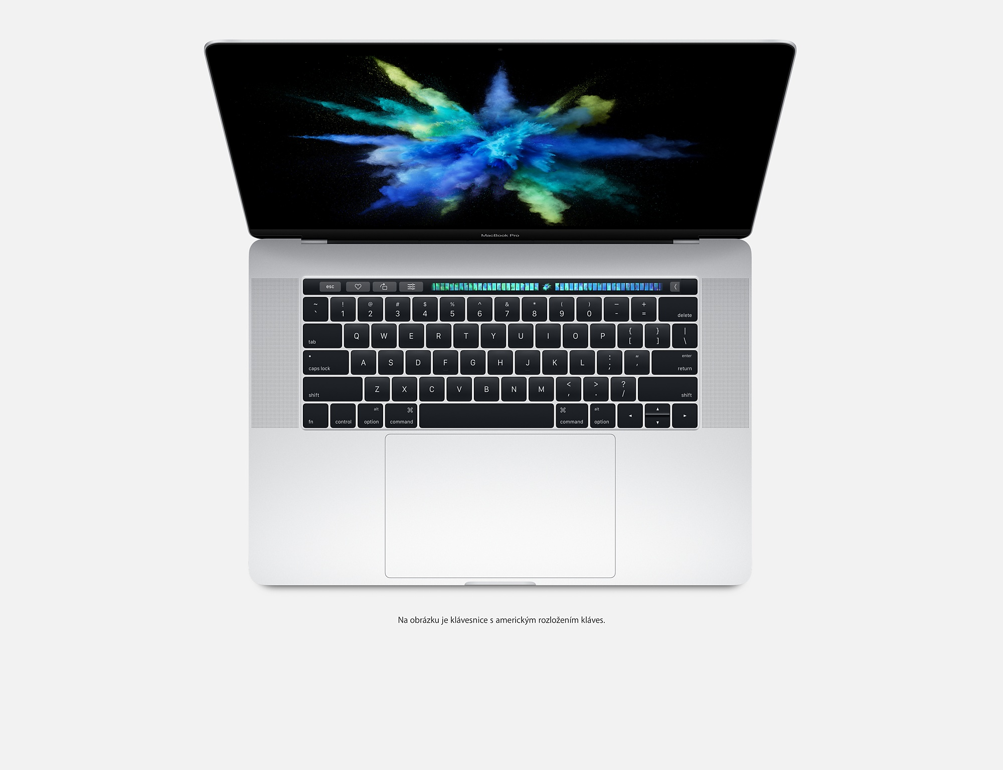 "Apple MacBook Pro 15,4"" Touch Bar/IPS Retina 2880x1800/QC i7 2.6-3.5GHz/16GB/256GB_SSD/R Pro 450_2GB/CZ/Silver"