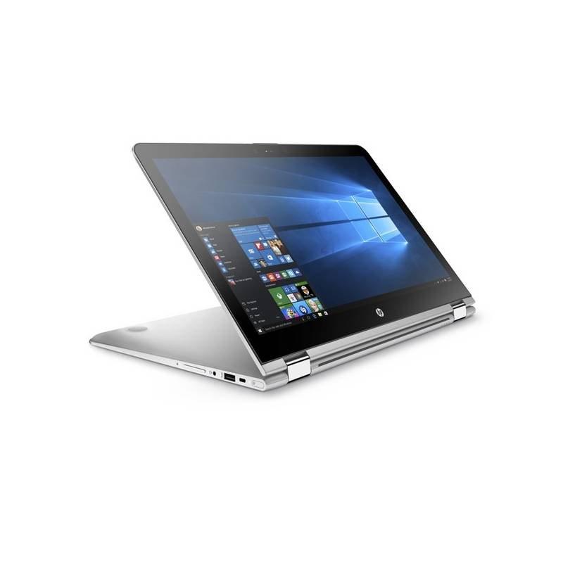 """HP Envy x360 15-aq004nc/Intel i7-6560U/8GB/1TB + 128GB SSD M.2/Intel Iris/15,6"""" FHD/Win 10 / stříbrný"""