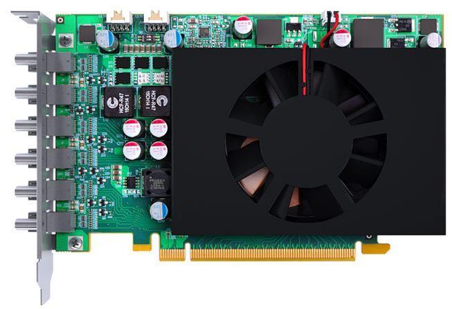 MATROX C680 2GB, MiniDP, Board-to-board framelock cable, PCI-E x16, 6-out-put