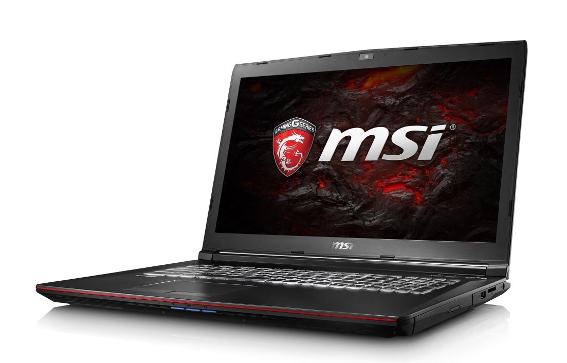 """MSI GP72 7RD-010CZ Leopard/i7-7700HQ Kabylake/8GB/128SSD + 1TB HDD 7200/DVDRW/ GTX 1050 2GB/17,3""""FHD/Win10"""