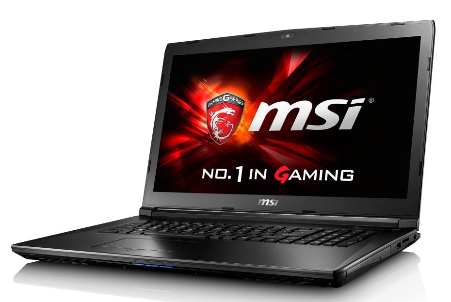 """MSI GL72 7RD-014CZ/i7-7700HQ Kabylake/8GB/1TB HDD 7200/DVDRW/ GTX 1050 2GB/17,3""""FHD/Win10"""