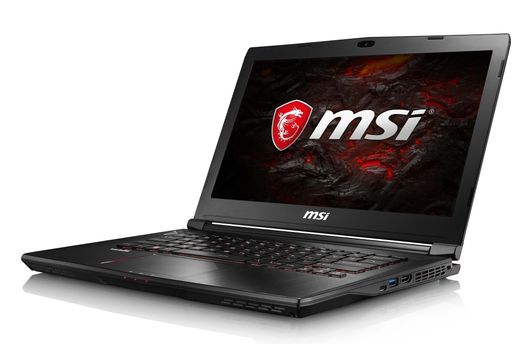 "MSI GS43VR 7RE-084CZ Phantom Pro/i7-7700HQ Kabylake/16GB/256GB SSD+1TB HDD/GTX1060 6GB/14"" FHD/Win 10"