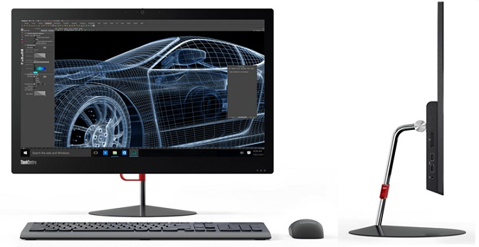 "Lenovo AIO ThinkCentre X1 23,8"" FHD IPS/i7-6600U/8GB/256GB SSD/HD Graphics 520/Win10PRO"