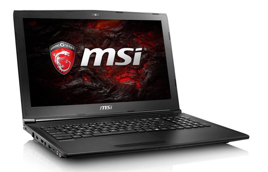 """MSI GL62M 7RD-202CZ/i5-7300HQ Kabylake/8GB/1TB HDD 7200 ot./GTX1050 2GB/15.6"""" FHD/Win10"""