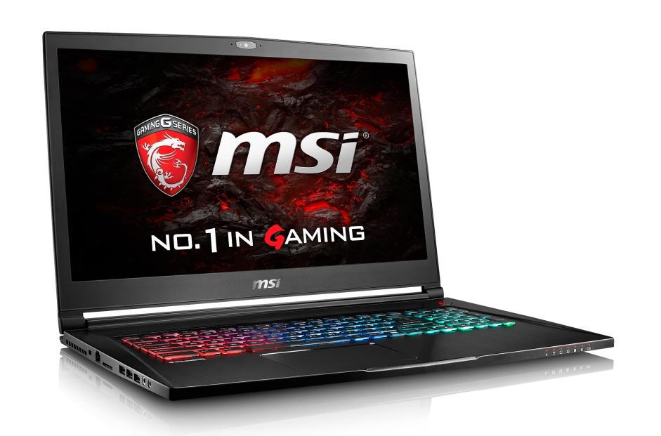 """MSI GS73VR 7RF-222CZ Stealth Pro 4K/i7-7700HQ Kabylake/16GB/512GB SSD + 1TB HDD 5400/ GTX 1060 6GB/17,3""""UHD/Win10"""