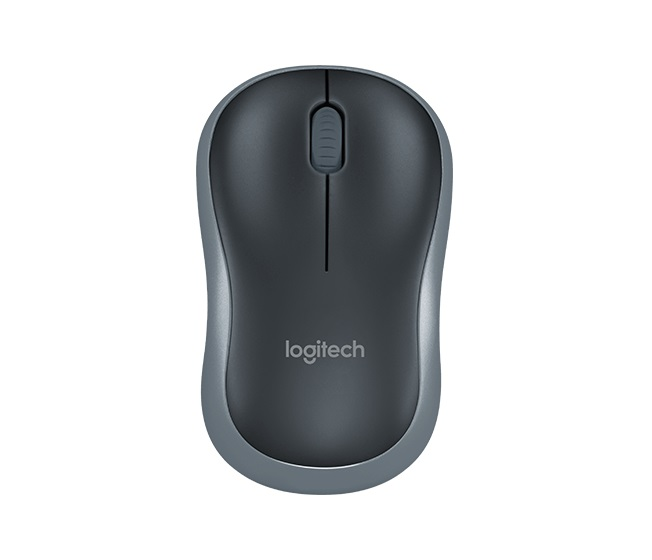 AKCE_myš Logitech Wireless Mouse M185 nano, swift gray